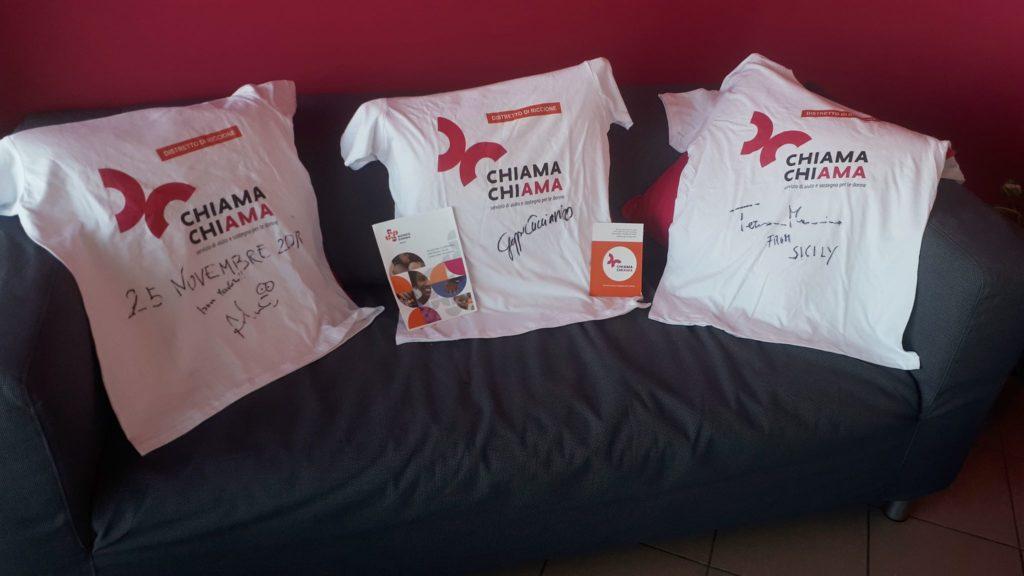 Le magliette del progetto #LOTTOSEMPRE